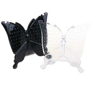96 Holes Butterfly Jewellery Earring Ear Studs Display Stand Holder Organi a_JZY
