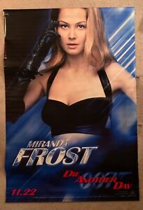 James Bond 007 DIE ANOTHER DAY Theatrical Banner ROSAMUND PIKE