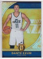 2016-17 Panini Gold Standard #93 Dante Exum Utah Jazz Basketball Card #/269