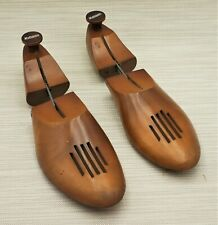 Antique  FortschcittGenzel Shoe Trees Wood /& Metal Adjustable Shoe Shapers Stretchers Forms Molds