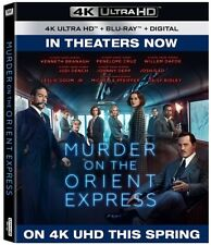 Murder On The Orient Express 4K UHD 4K (used) Blu-ray Only Disc Please Read