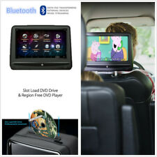 2 Pcs Android 7.1 10.1'' HDMI BT WiFi Mirror Link Headrest Monitors DVD Player