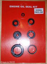 Honda CB360 Oil Seal Kit CL360 CJ360  1974 1975 1976 1977 for Motorcycle Engine