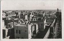 Original vintage 1929 MOROCCO Casablanca Ville Arab RPPC