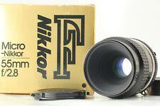 [quasi Nuovo di zecca con scatola] Nikon Ai-S AIS Micro Nikkor 55mm f/2.8 MF lente dal Giappone