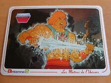 Carte Postale Les Maitres de l'Univers - Musclor - MOTU 1984