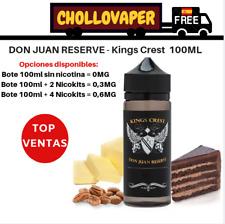Don Juan Reserve 100ml - Kings Crest E-liquid