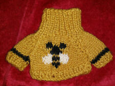 """New listing Collectible Htf Bumble Bee Sweater for Retired Boyds Bear Buzzby 1994 (About 8"""")"""