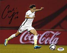 Carli Lloyd Signed Usa Soccer 8x10 Photo Psa/Dna Coa World Cup Picture Autograph