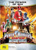 The Power Rangers - Super Megaforce - Power Of Six : Eps 7-13 (DVD Region 4) NEW