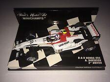 Minichamps F1 1/43 BAR HONDA 006 Anthony DAVIDSON 3rd DRIVER Limited Edition