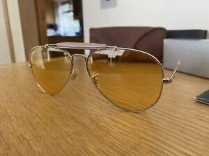 Ray-Ban RB3407 Outdoorsman AMBERMATIC Sunglasses 58-14  limited editon 2012