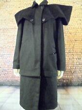 "designer black cashmere coat Clothsurgeon Ravi Matharu end of the beginning 42"""