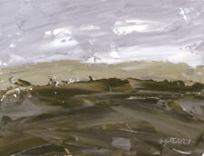 North Yorkshire Moors ORIGINAL LANDSCAPE PAINTING Steve Greaves Art Kyffin York