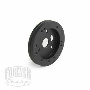 ".5"" Black Short Hub 5 or 6 Hole Steering Wheel Grant NRG to 3 Hole Adapter"