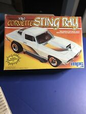 Mpc 1967 CORVETTE STING RAY 1/25#3726 Famous Fastback In Factory Bag In Open Box