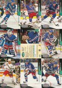 1993-94 Parkhurst by UD New York Rangers Regular Team Set (20)