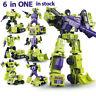 WJ Transformers Devastator 6 In 1 Hercules Engineering Car Action Figure In Box