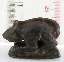 SUPER RARE! 17th.c Bronze Squirrel Opium Weight High Quality Bronze & Casting