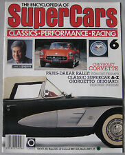 SUPERCARS magazine Issue 6 Featuring Chevrolet Corvette cutaway drawing & poster