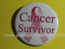 BREAST CANCER AWARENESS- CANCER SURVIVOR SUPPORT BUTTON!