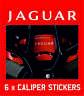 Jaguar Brake Calipers Stickers Decals Logo Vinyl