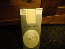 Christian Dior una taglia 15 DENARI OPALINE DIORELLA Ultra Plain Collant in Maglia