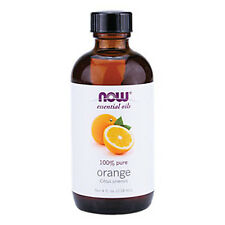 Orange Oil (100% Pure), 4 oz - NOW Foods Essential Oils