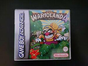 Nintendo Gameboy Advance Wario land 4 Genuine Cart