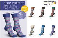 6x100 gr.Sockenwolle/Strumpfwolle Regia Pairfect Design Line by Arne & Carlos 2