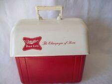Vintage Miller High Life Champagne Of Beer Advertising Drink Cooler Barn