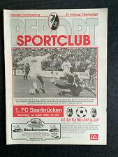 II BL 91/92 SC Freiburg - 1. FC Saarbrücken, 12.04.1992