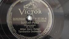 Milan Verni Victor Tamburica Orch. – 78rpm 10-inch – Victor #V-3116