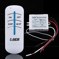 Télécommande sans fil interrupteur 1 CH ON / OFF 220V 300W Pour lampe lumière