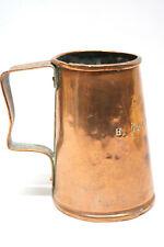 Antiker Barock Kupferbecher Humpen