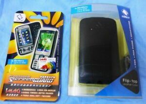 Capdase blackberry curve 9300 8520 flip cover case with IMAG screen protector