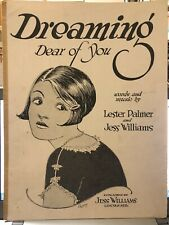 1926 Lincoln, Nebraska Sheet Music Jess Williams