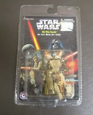 Obi-Wan Kenobi 1997 STAR WARS Die Cast Metal Key Chain MOC