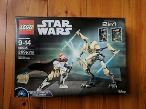 Rare Battlepack BNIB Lego Star Wars Obi-Wan 75109 & General Grievous 75112 MINT