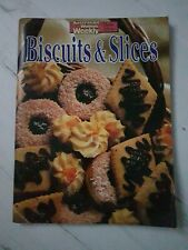 Biscuits & Slices Home Library Cook Book Magazine The Australian Womens's Weekly