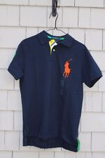 NWT- Polo Ralph Lauren Men's Big Pony Embroidered Polo/Rugby Shirt Size XL