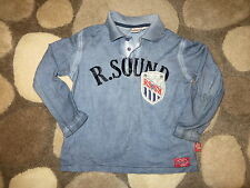 GUC RED SOUND EURO BOUTIQUE 100% COTTON KIDS BOYS TOP T-SHIRT SZ 5 6 7