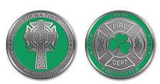 Irish Firefighter Challenge Coin