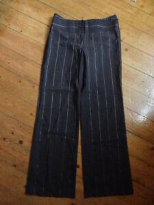 (216JAN) Size 10 *NEXT* Smart brown wool office/work trousers ladies/womens