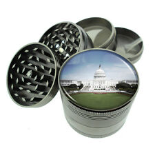 Washington D.C. D4 Titanium Grinder 4 Piece Magnetic Hand Mueller Monuments