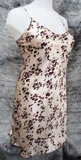 Knee Length Silk Animal Print Nightwear for Women