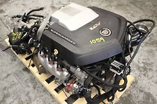 2009 CADILLAC CTS-V SEDAN OEM ENGINE & TRANSMISSION SWAP LSA 6.2L AUTO #1059