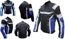 Giacca Giubbotto Da Per Moto Con Protezioni in Cordura S- M- L- XL- XXL 3XL 4XL