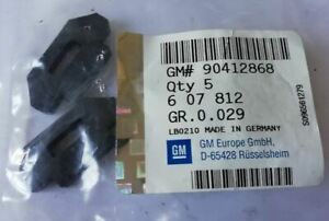 Vauxhall Astra Corsa Signum Vectra Zafira 1.6 1.8 Engine Cover Rubber Mountings