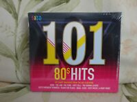 101 - 80s Hits -CD - Various Artists - New - Free uk Postage